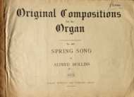 Hollins, Alfred - Spring Song