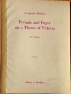Britten, Benjamin - Prelude and Fugue on a Theme of Vittoria