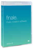 Finale 25 upgrade from previous versions of Finale