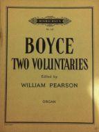 Boyce, William - Two Voluntaries
