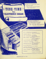 Tune Time for Electronic Organ