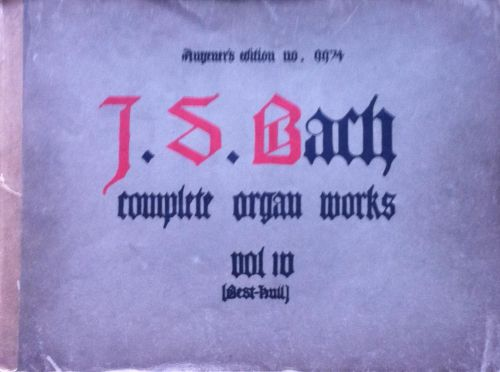 Bach, J.S. - Complete Organ Works vol 10