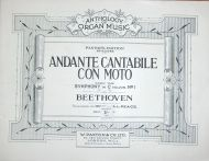 Beethoven - Andante Catabile Con Moto from Symphony No. 1