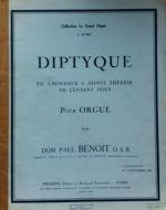 Benoit, Dom Paul - Diptyque