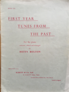 First Year Tunes From The Past