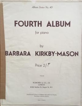 Fourth Album for Piano