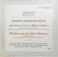 Bach, JS - Cantata no 15, Cantata for a Wedding