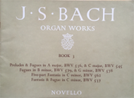 Bach, J.S. - Organ Works, Book 3
