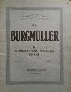 Burgmuller, F - 18 Characteristic Studies, Op.109