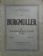 Burgmuller, F - 25 Easy & Progressive Studies, Op.100