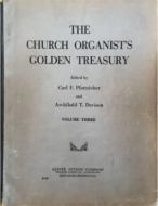 Churh Organist's Golden Treasury, Vol. 3