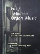 Easy Modern Organ Music