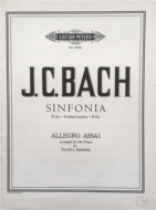 Bach, J.C. - Sinfonia in Bb - Allegro Assai