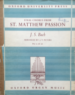 Bach, J.S. - Final Chorus from St. Matthew Passion