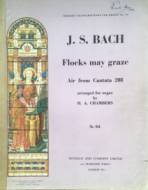 Bach, J.S. - Flocks May Graze