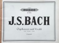 Bach, J.S. - Orgelkonzert nach Vivaldi - in D minor