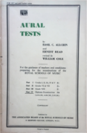 Aural Tests - Part 4 Diploma Examinations