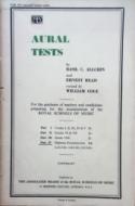 Aural Tests - Part 4 Diploma Examinations