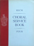 Choral Service Book Four