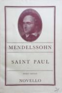 Mendelssohn, Felix - Saint Paul