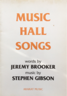 Music Hall Songs - vocal score