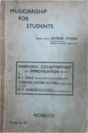 Musicianship for Students, Harmony, Conterpoint and Improvisation