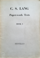 Paperwork Tests, Book 1