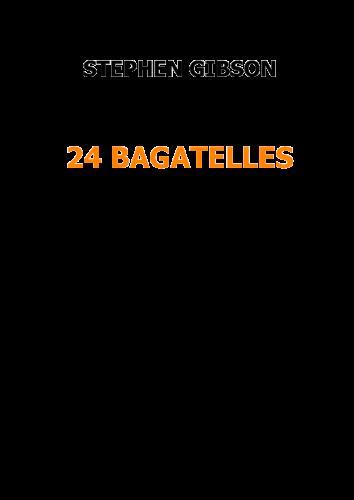 24 Bagatelles for horn quartet - Book 2 (download)