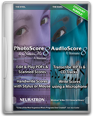 Photoscore and Audioscore Bundle
