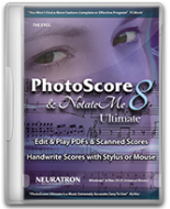 Photoscore & NotateMe Ultimate 8