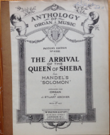 Handel, G.F. - The Arrival of the Queen of Sheba