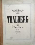 Thalberg, S - 12 Studies, Op.26 Book I