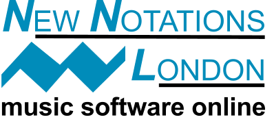 sheet vocal music - New Notations London